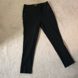 H+M pants! Button detail
